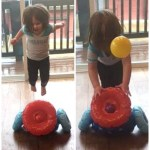You will EXPLODE with Excitement for this Kiddy Up Ball Cannon