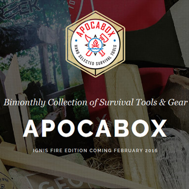 Apocabox Bimonthly Survival Subscription Box