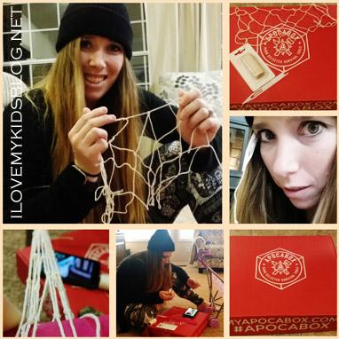 Apocabox December 2016 Gill Net Weaving Skill Challenge