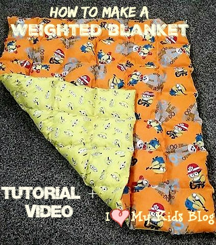 How To Make A Weighted Blanket A Diy Video Tutorial To Do