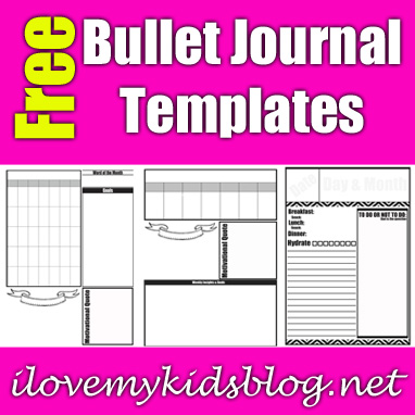 Tackle the Endless 'to-do' List with These Free Customizable Bullet Journal Templates
