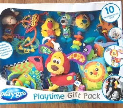 An Easy and Fun Baby Shower Gift Pack Set from Playgro