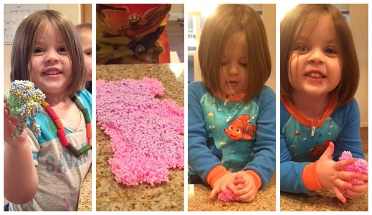 Playing with Play Foam
