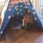 This Pacific Play Tent Teepee is the Perfect Child Hideaway