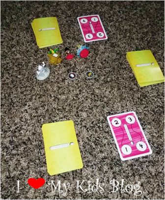 Basher Science card game war