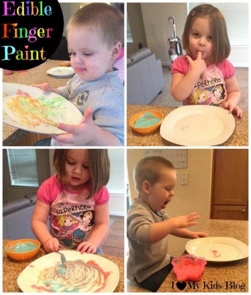 Edible Finger Paint 1