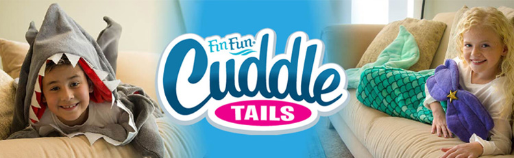 Fin Fun Cuddle Tails make the perfect accessory for mermaid fans everywhere
