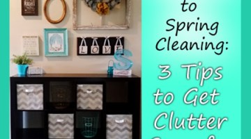 A Minimalist's Approach to Spring Cleaning: 3 Tips to Get Clutter Gone for Good