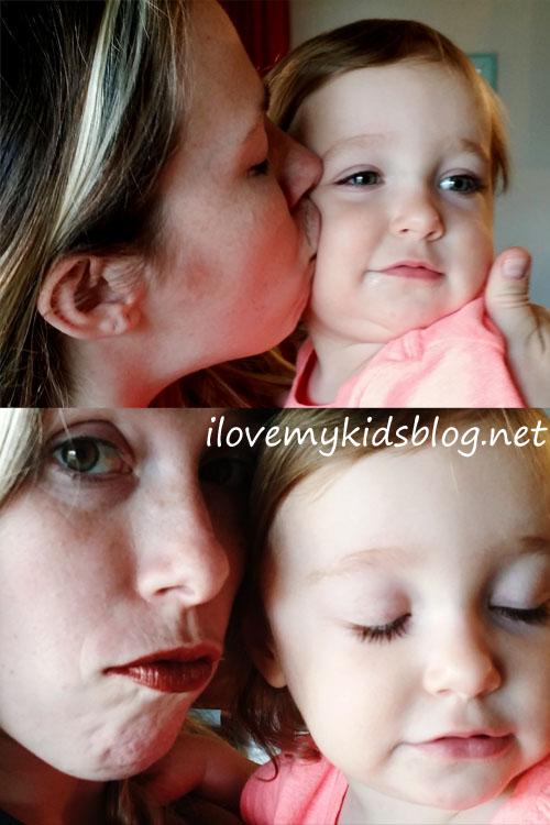 Lipsense by SeneGene Cocoa Lip Color kiss test