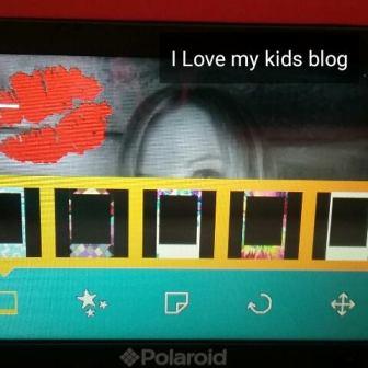 Polaroid snap touch frames