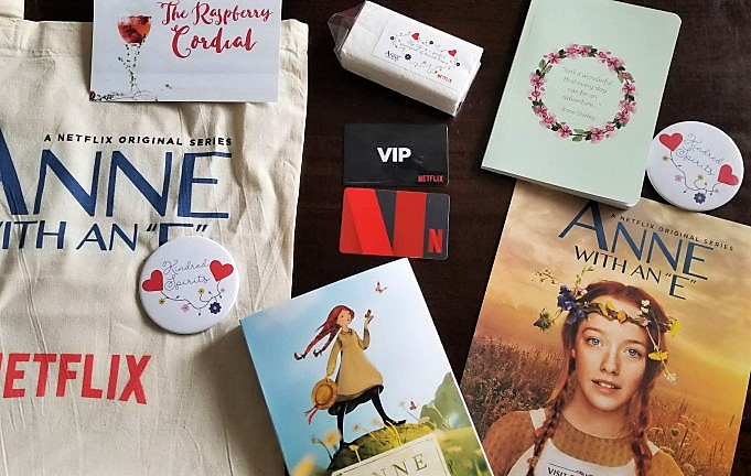anne with an E Netflix giveaway