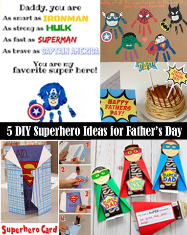5 Simple DIY Superhero Ideas to Make This Father's Day One ...