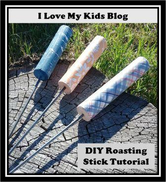 DIY roasting stick button small