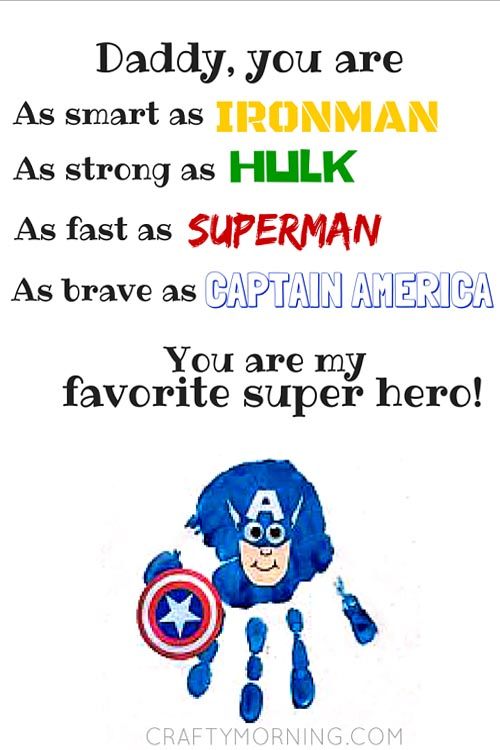 captain america printout superhero ideas
