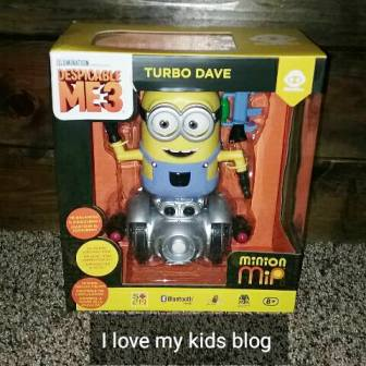 minion toy robot wowwee