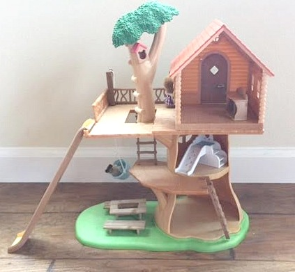 Calico Critters Treehouse Back
