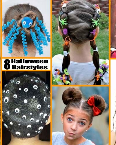 8 Fun & Unique Halloween Hairstyle Ideas For Kids