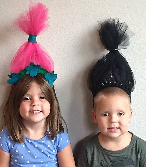 DIY-Troll-Headbands