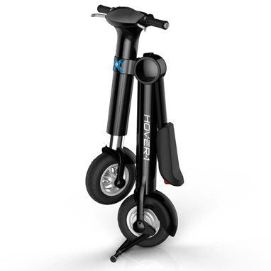 Hover-1 XLS e-bike folds for easy storing and transportation
