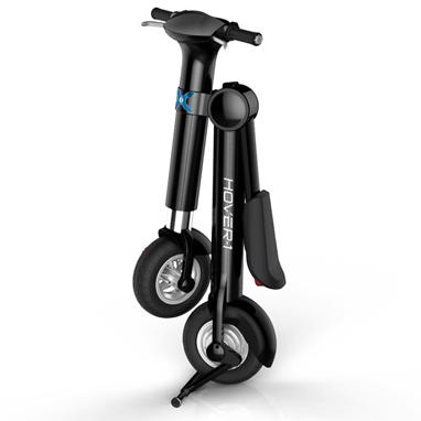 Hover-1 XLS e-bike folds for easy storing and transportation