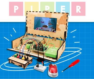 Tap into your child's imagination with a Piper Computer Kit!