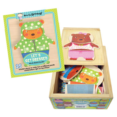 2017 Pre-K Holiday Gift Guide Innovative Kids Let's Get Dressed Puzzle