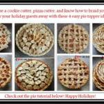 4 EASY ways to make your pies more beautiful this holiday season!