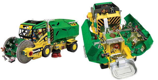 2017 Pre-K Holiday Gift Guide TMNT Micro Mutant Sweeper Ops
