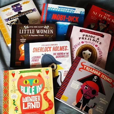 Introducing Classical Literature to Your Babies & Toddlers Is Possible Thanks to BabyLit Books