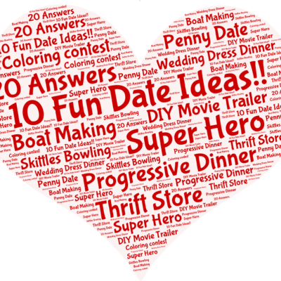 10 fun date ideas-just in time for Valentines Day!