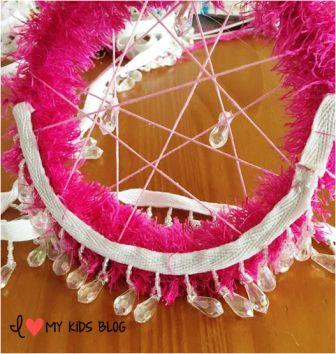 DIY Unicorn Dream Catcher Craft 6