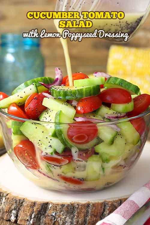 Veggies Most: Cucumber Tomato Salad