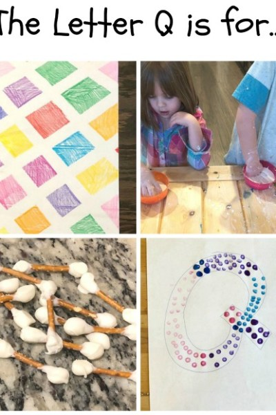 Q is for Quilt, Quicksand, and Q-tip: Preschool Activities for the Letter Q