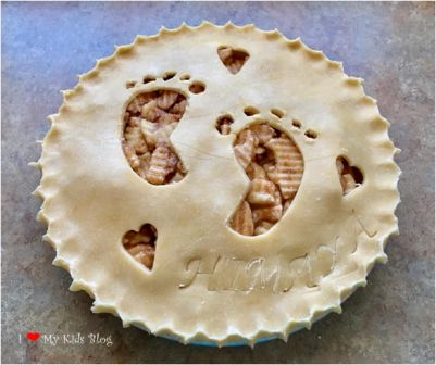 Beautiful pies baby shower