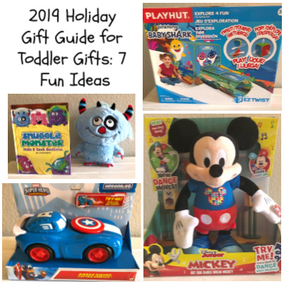 2019 Holiday Gift Guide for Toddler Gifts: 7 Fun Ideas