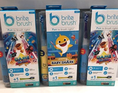 Make Brushing Teeth Fun with BriteBrush GameBrush and Baby Shark