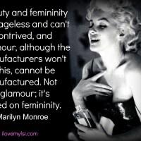 Beauty, glamour, femininity.