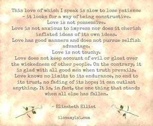 This love.