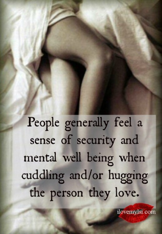 People generally feel a sense of security