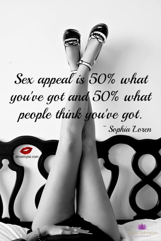 Sex appeal is 50 what you've got