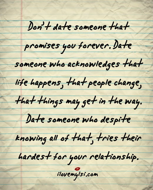 dating someone changes you