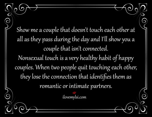 nonsexual touch
