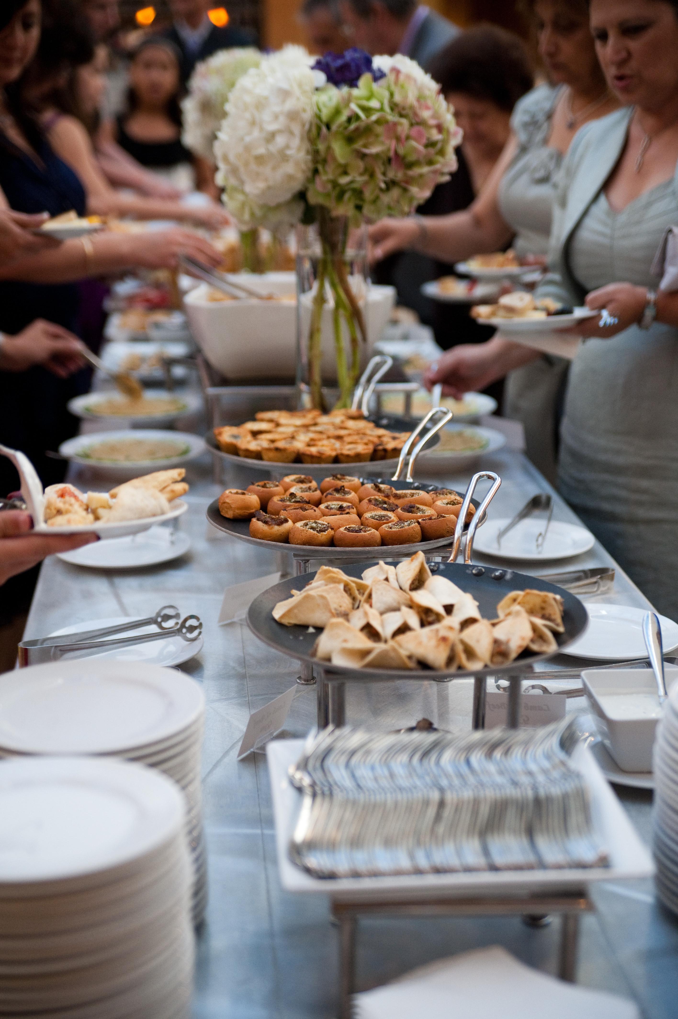 Wedding Reception Buffet Menu Examples Small Wedding Venues Lake