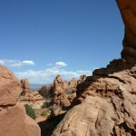 Arches NP Window frame