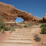 Arches NP North Window Trail