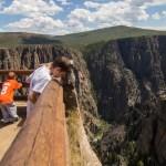Black Canyon NP lookout below