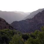 Black Canyon NP hazy view