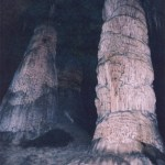 Carlsbad Caverns NP Big Cavern stalagmites