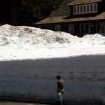 Crater Lake NP deep snow