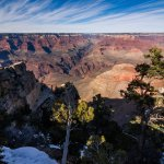 Grand Canyon Rim Trail View